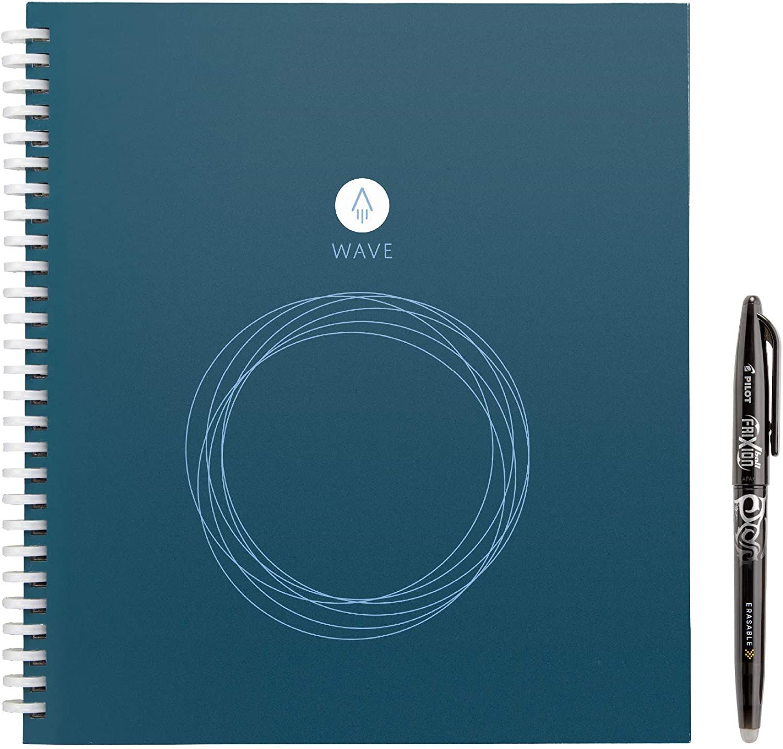Rocketbook Wave Smart Notebook Pilot Frixion Pens Frixion Pens Dot Grid Notebook