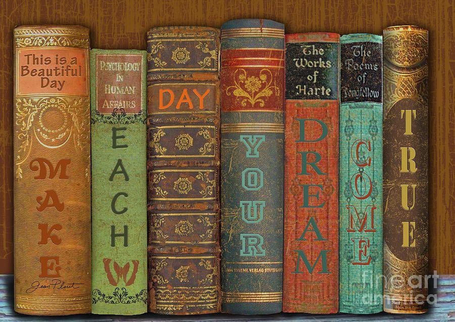 Make Each Day-books Digital Art