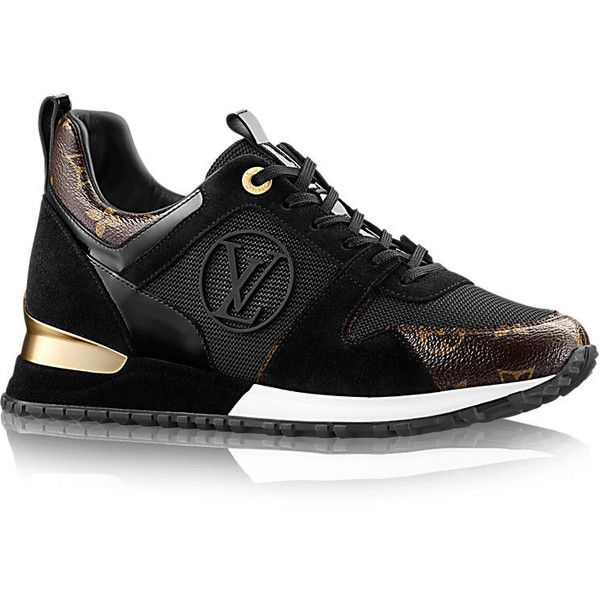ebbac066d LOUIS VUITTON Sneaker Run Away ($680) ❤ liked on Polyvore featuring shoes,  sneakers, louis vuitton, louis vuitton sneakers, monogrammed shoes, louis  ...
