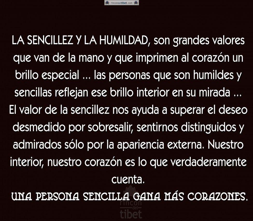 La Sencillez Y La Humildad Son Grandes Valores Que Van 976x852 Jpg 976 852 Pixeles Sencillez Y Humildad Reflexiones De Humildad Frases Sobre La Humildad