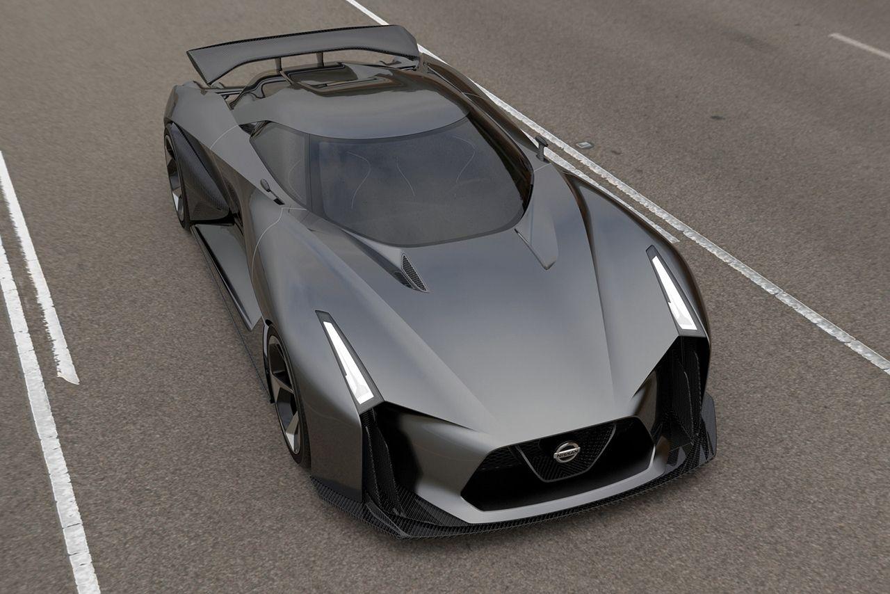 Nissan Concept 2020 Vision Gran Turismo Voiture De Sport Gt R Voiture
