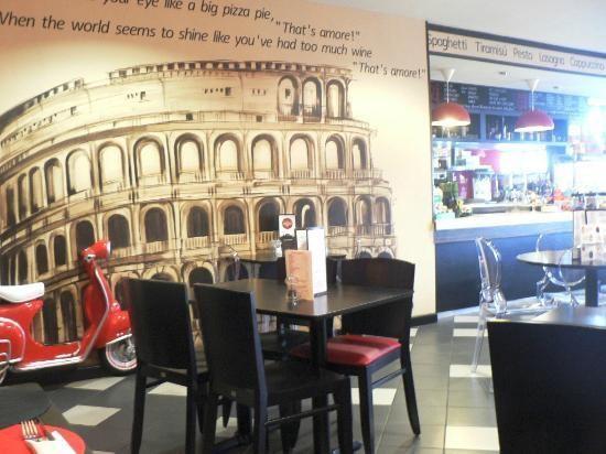 what a great italian-themed restaurant idea! | restaurant designs