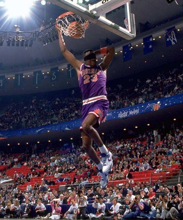 1285d98eba01 Cedric Ceballos Phoenix Suns NBA Slam Dunk Contest