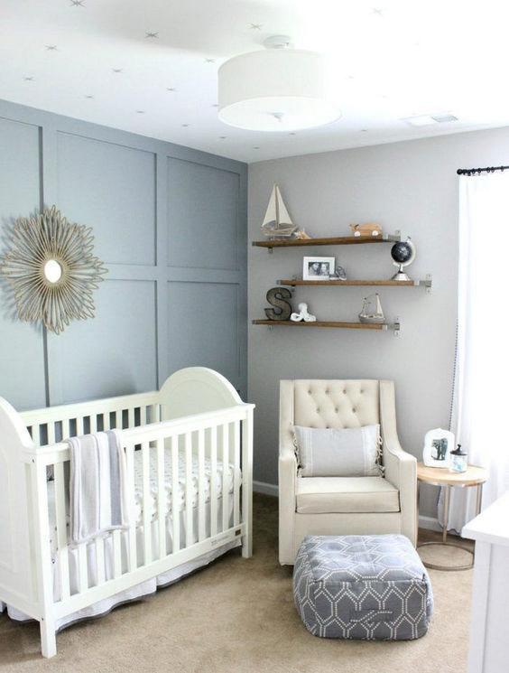 Best Baby Nursery Room Decor Ideas 62 Adorable Photos Https Www Futuristarchite Decorar Habitacion Bebe Decoracion Habitacion Bebe Habitacion De Bebe Unisex