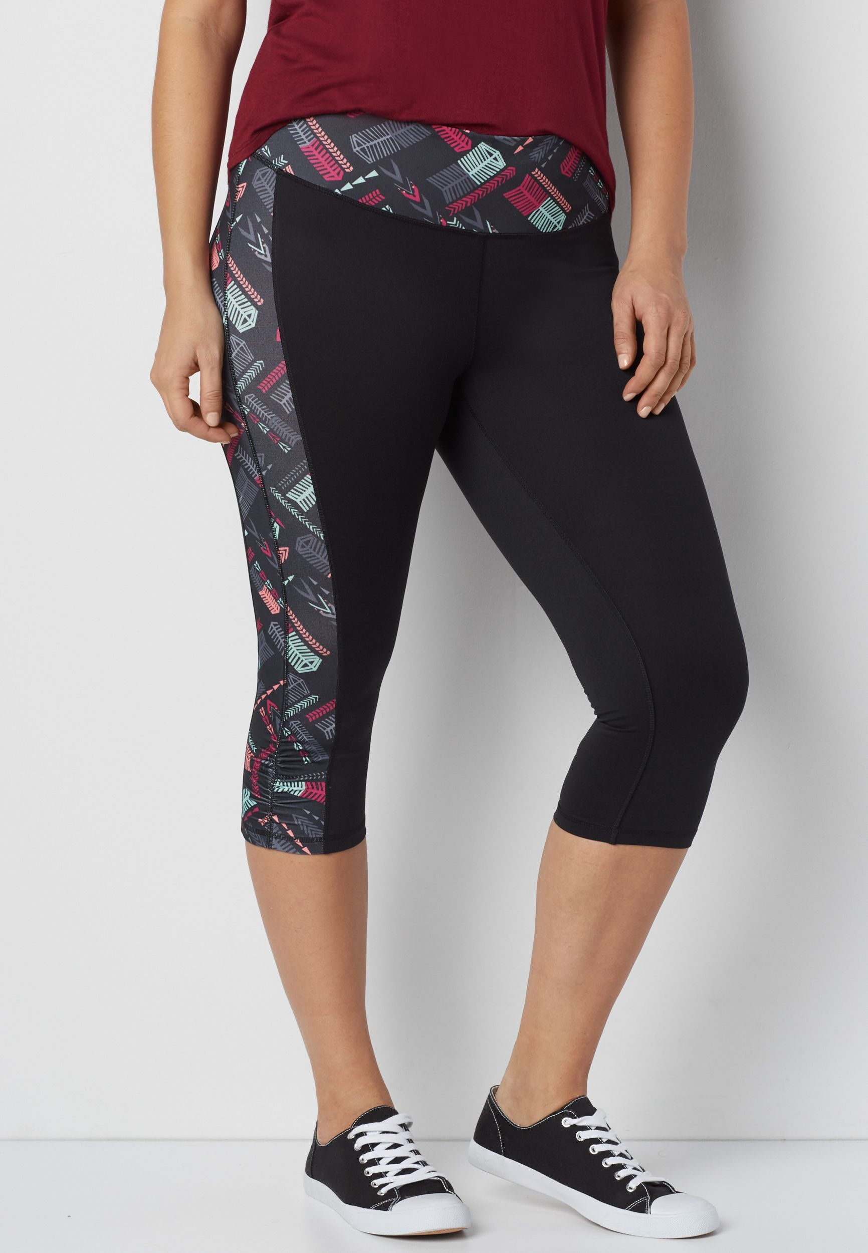 Plus Size Patterned Leggings Simple Inspiration Ideas