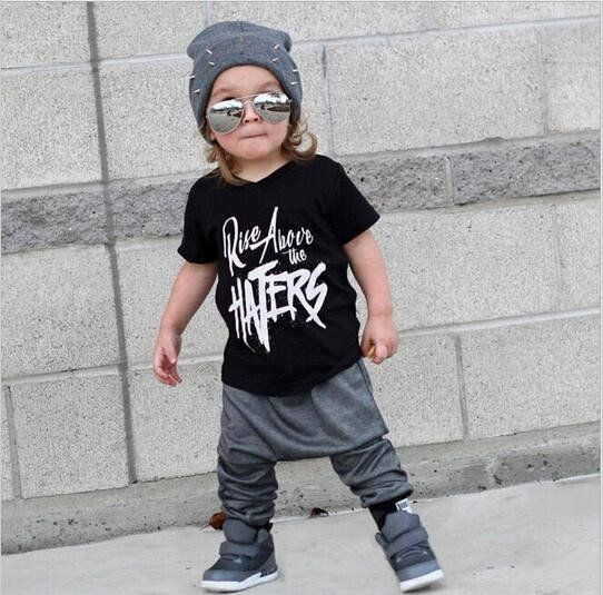 Rise Above Edgy Tee Pants Set Baby Clothes Connect Richard