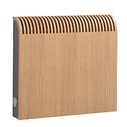 Jaga Knockonwood Wooden Radiator Casing Oak Effect (H)300 x (W)600 x (D)128mm, 5050753013449