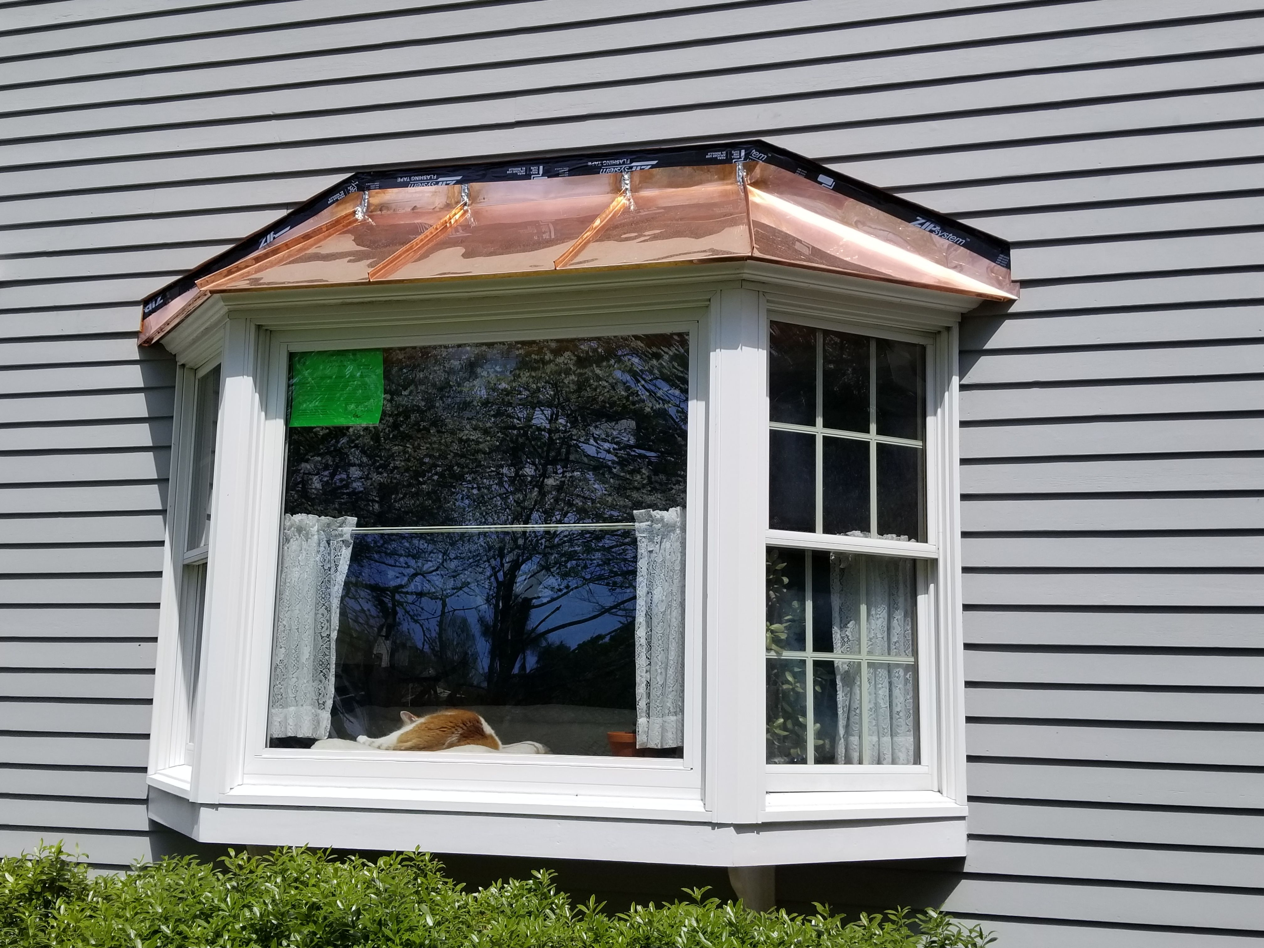 Metal Roof Photo Galleries Classic Metal Roofs Llc Stow Ma Metal Roof Aluminum Roof Bay Window
