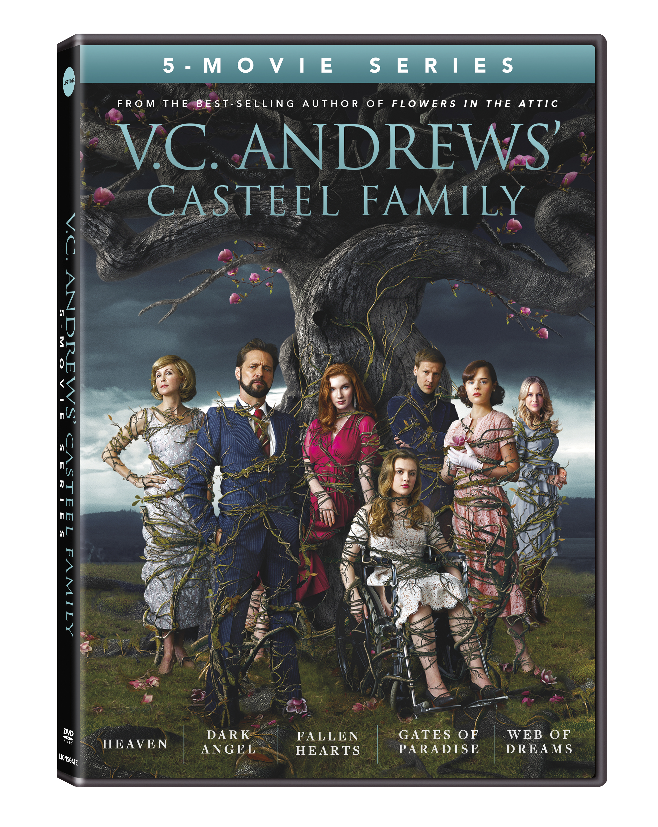 Dvd Date For V C Andrews S Casteel Family 5 Movie Series In 2020 Flowers In The Attic Dating Dark Heart
