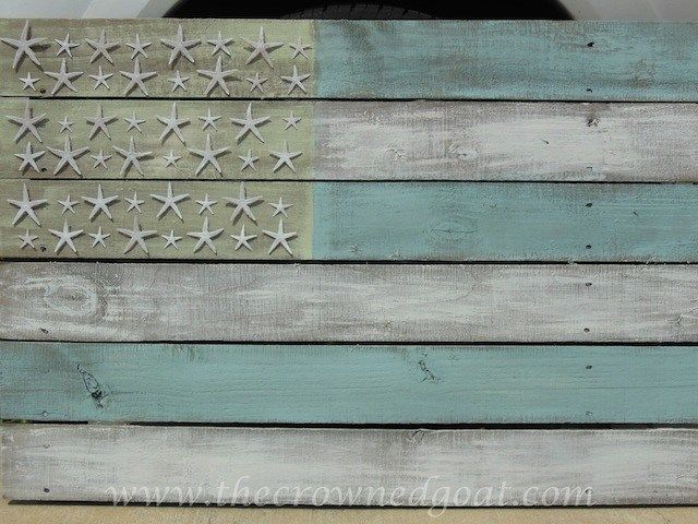 Photo of Patriotic Inspiration: Coastal Flag – The Crowned Goat