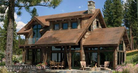 Clearwater Modern Timber Frame Home Floor Plan Rustic House Plans House Designs Exterior Rustic Houses Exterior