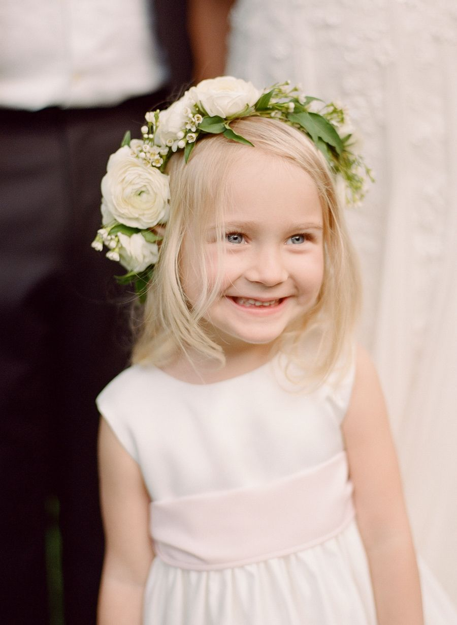 All out romance looks a little something like this flower crowns cute flower girl flower crown photography rebecca yale photography izmirmasajfo