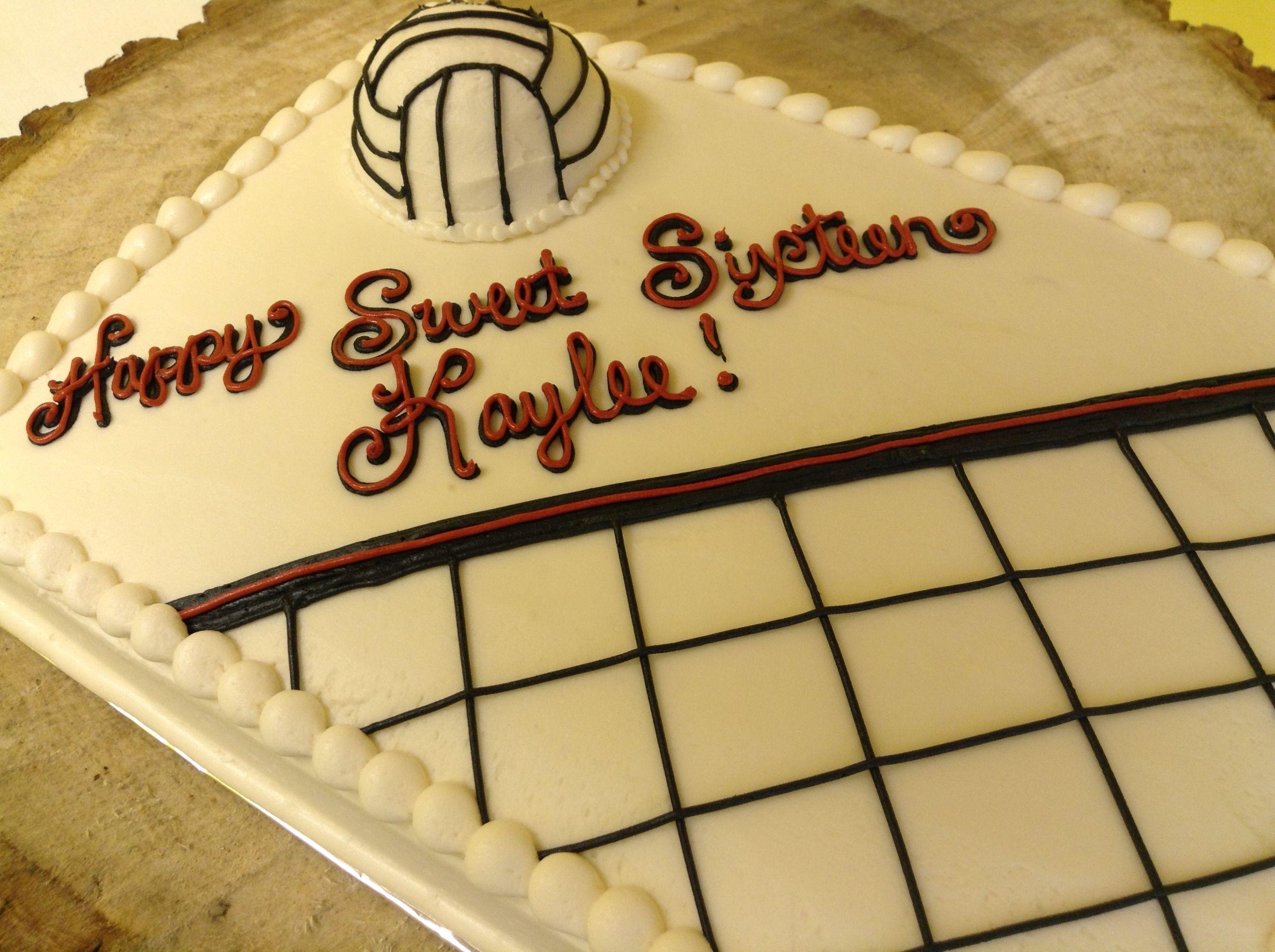 Volleyball Sheet Cake Graduation Cakes Sheet Cake Cake