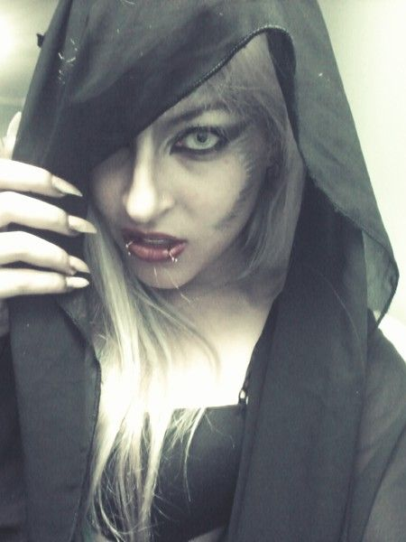 Werewolf Makeup Love this Halloween Pinterest Vampiros, Lobos