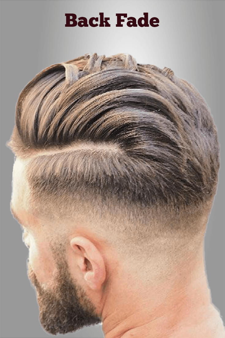 Boy hairstyle back back fade hairstyles men  mens hairstyles in   pinterest