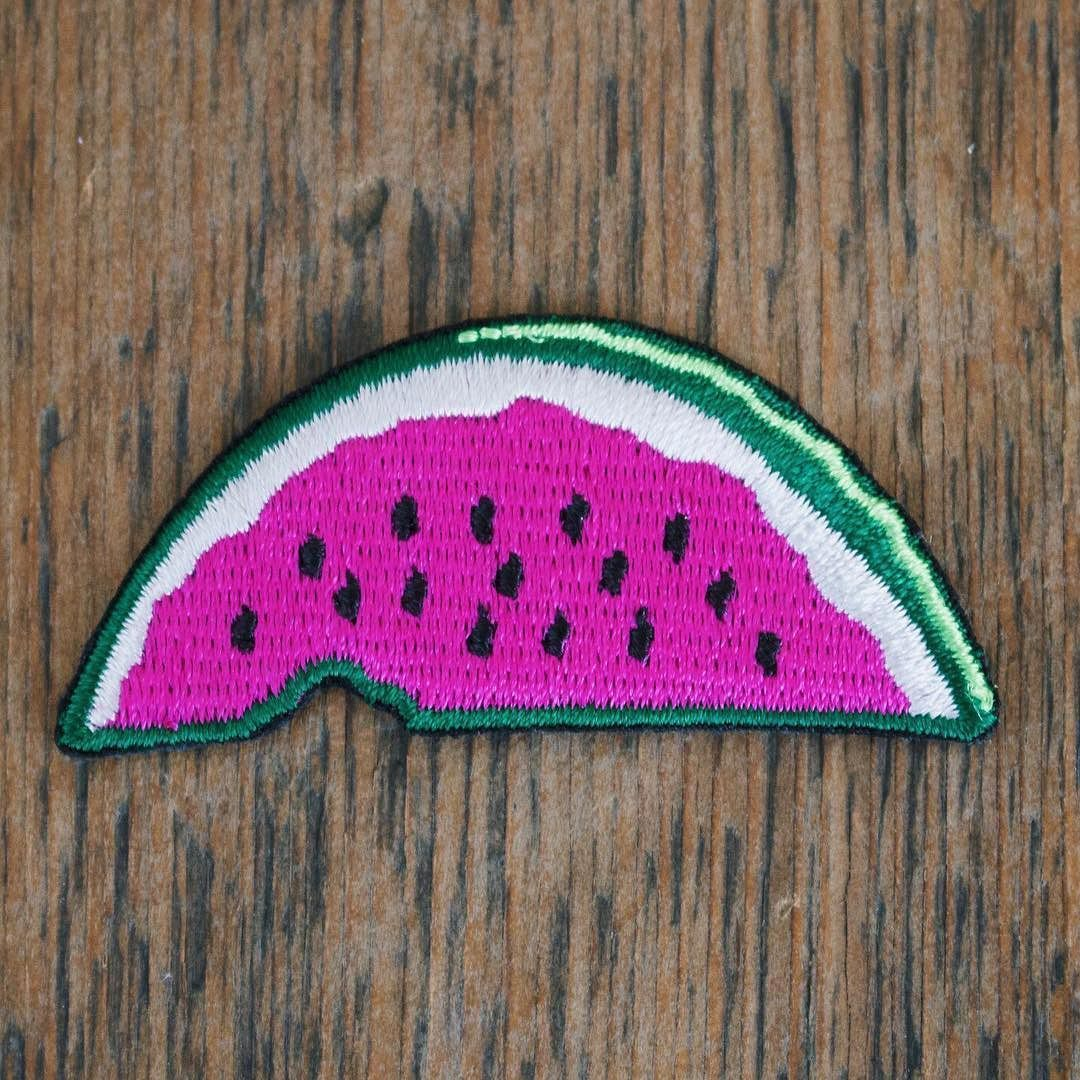2296210bab  Repost  booniepatchco SO JUICY IT HURTS Buy yourself a patch and add it to  your summer wardrobe it is too easy not to do. All of our patches iron-on  and ...
