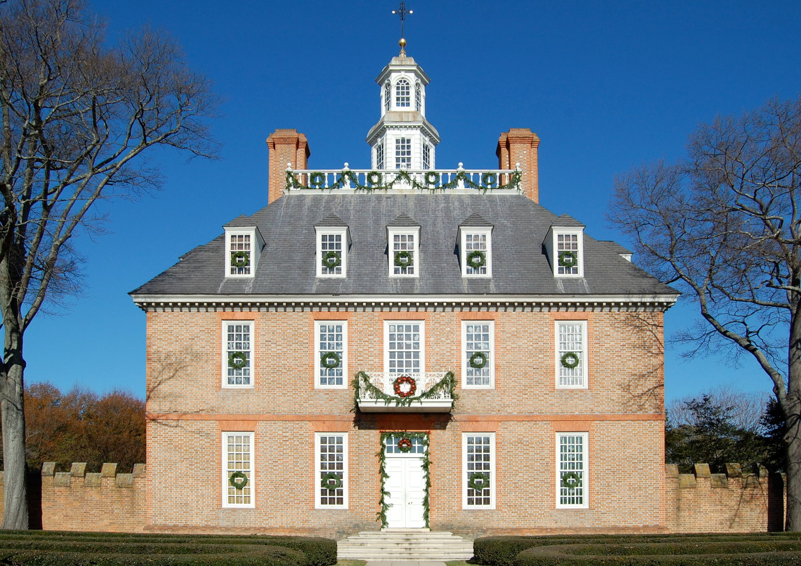 The Governor's Palace, Williamsburg, VA. Colonial