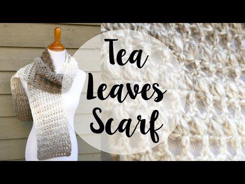 Fiber Flux: Free Crochet Pattern...Tea Leaves Scarf! | scarves ...
