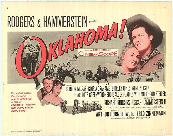 oklahoma 1955 movie | Oklahoma movie posters at movie poster ...