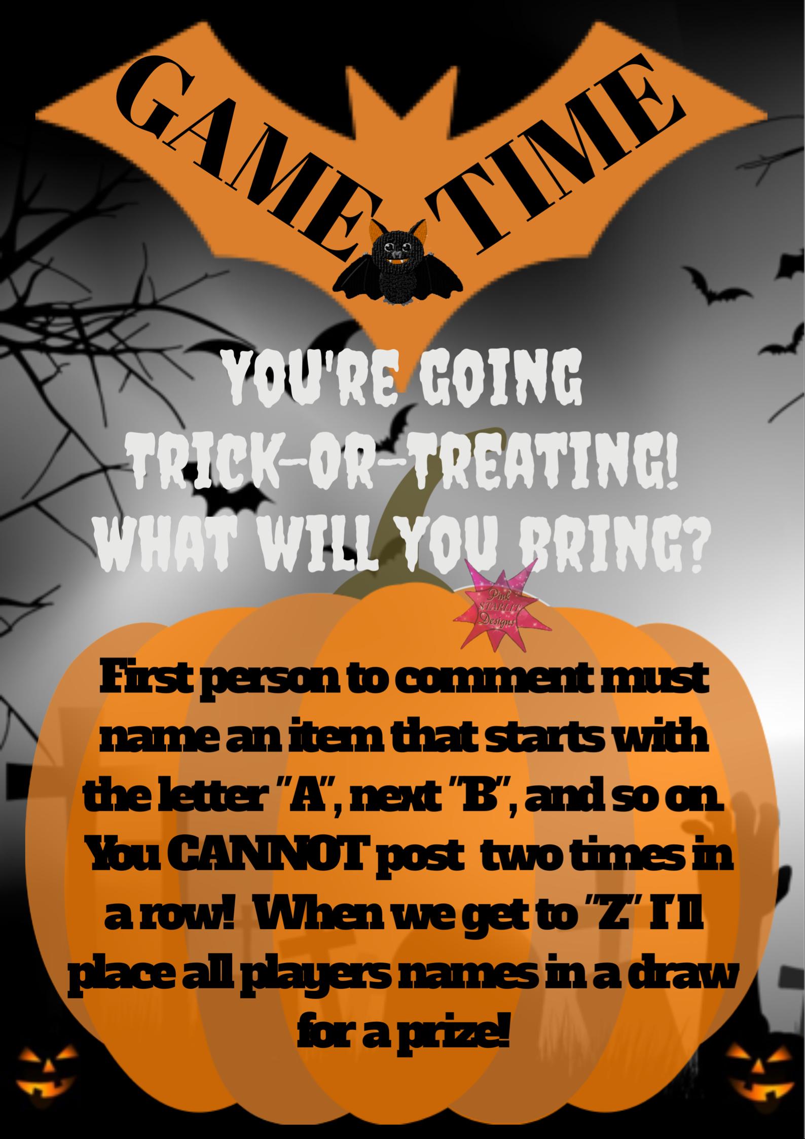 Halloween Game Online party games, Interactive posts