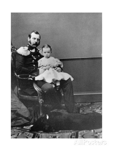Alexander II of Russia | Tsar Alexander II of Russia with His Son, Grand Duke Paul ...