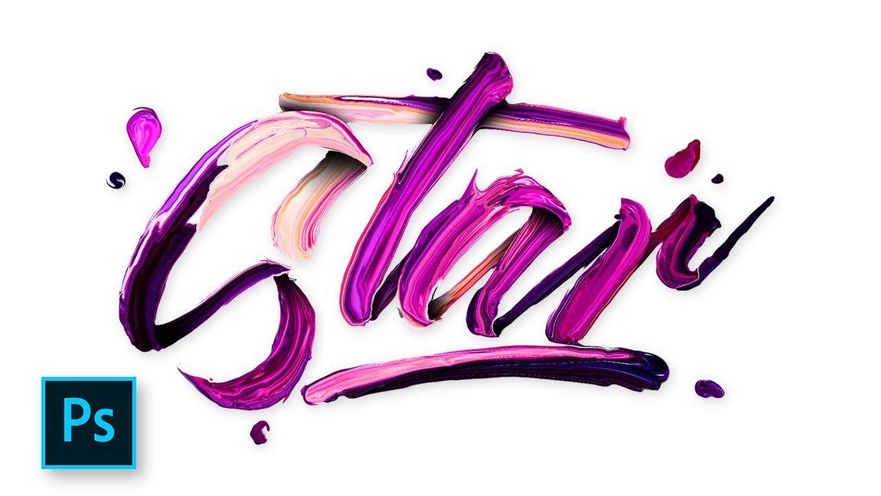 Typography design paint text effect photoshop photoshop typography design paint text effect photoshop photoshop tutorial ind baditri Choice Image