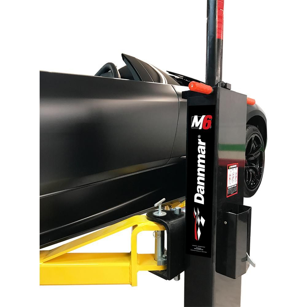 Dannmar M6 6,000 lb. 2Post Portable Car LiftM6