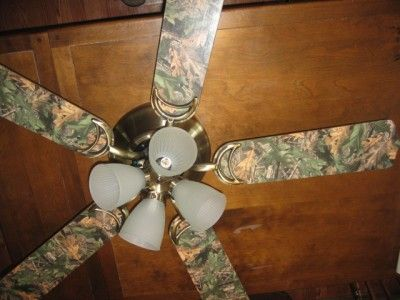 New 52 ceiling fan with realtree camo blades cabin decor rustic camodecor about new 52 ceiling fan with realtree camo blades cabin decor rustic aloadofball Gallery
