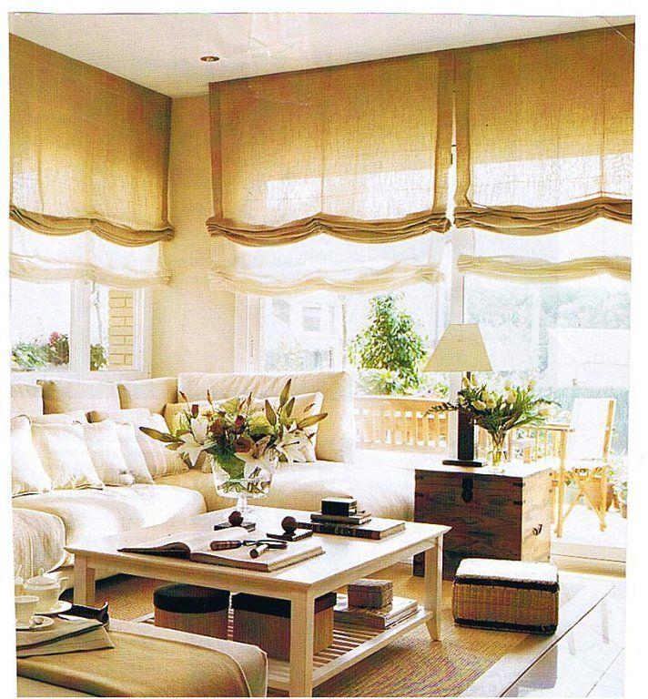 Problemas con tus instalaciones ventanas sin vestir ya - Estor con cortina ...