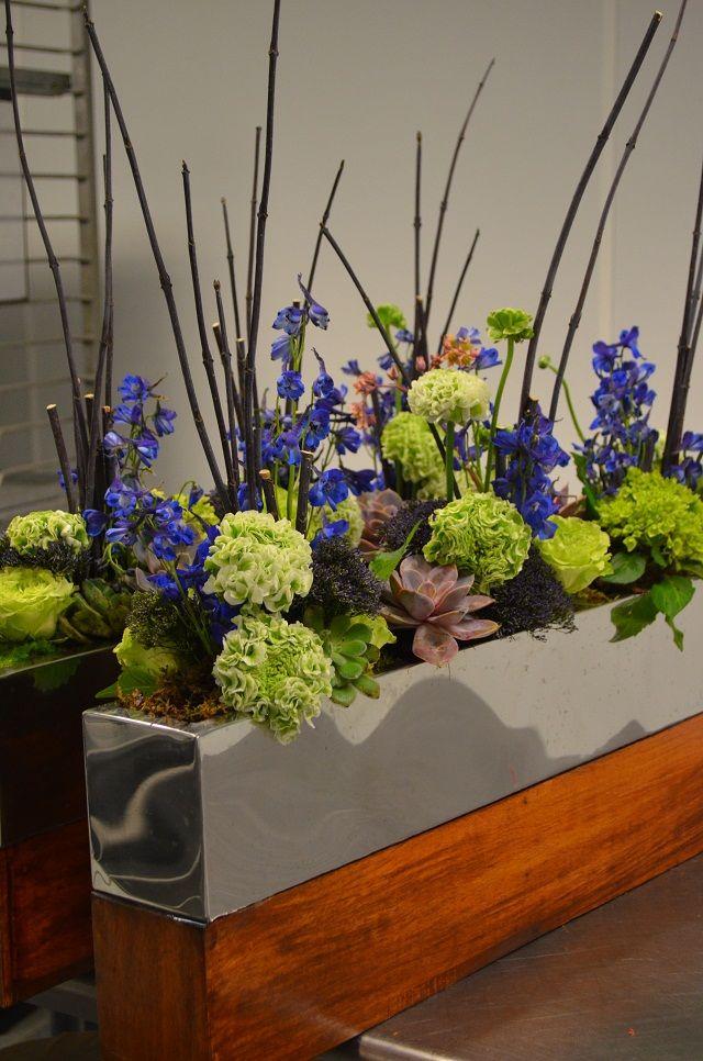 Contemporary Plant Arrangements Modern Spring Flower