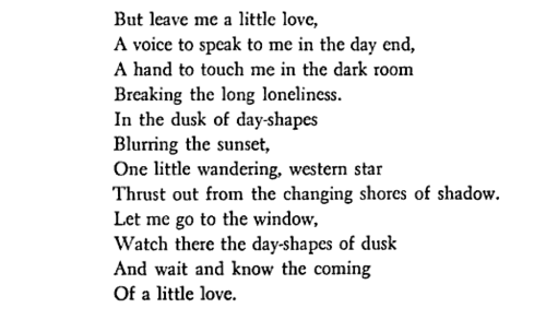 Poem. Carl Sandburg, At a Window