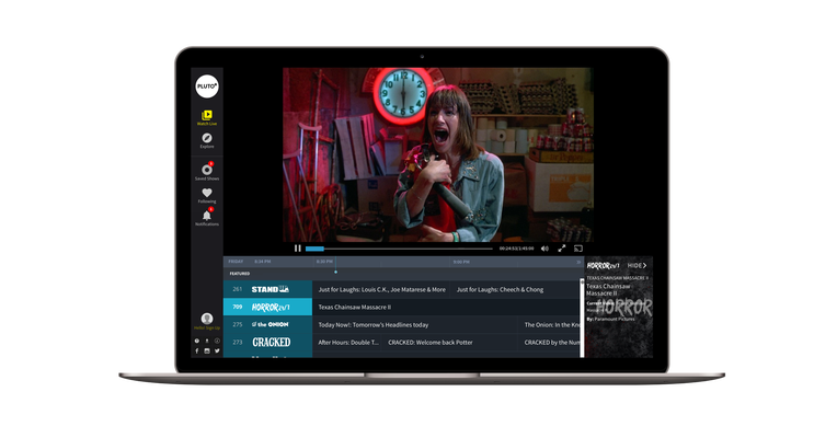 Streaming TV service Pluto TV adds an ondemand video