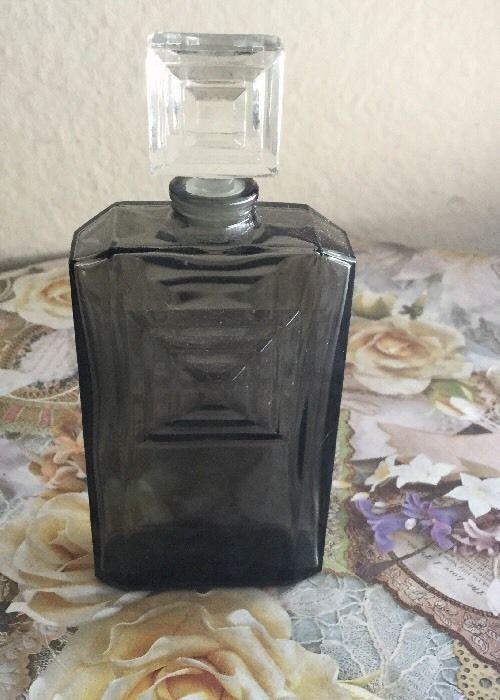 Vintage Art Deco Caron Perfume Paris France Bottle | eBay
