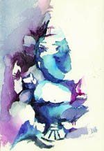 Lord Ganesha Painting In Water Colors Ganesha Painting Lord Ganesha Paintings Indian Paintings