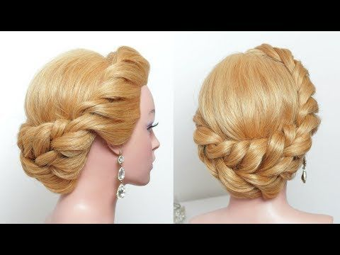 Easy Updo Hairstyles Easy Updohairstyle For Long Hair Tutorial Stepstep  Youtube