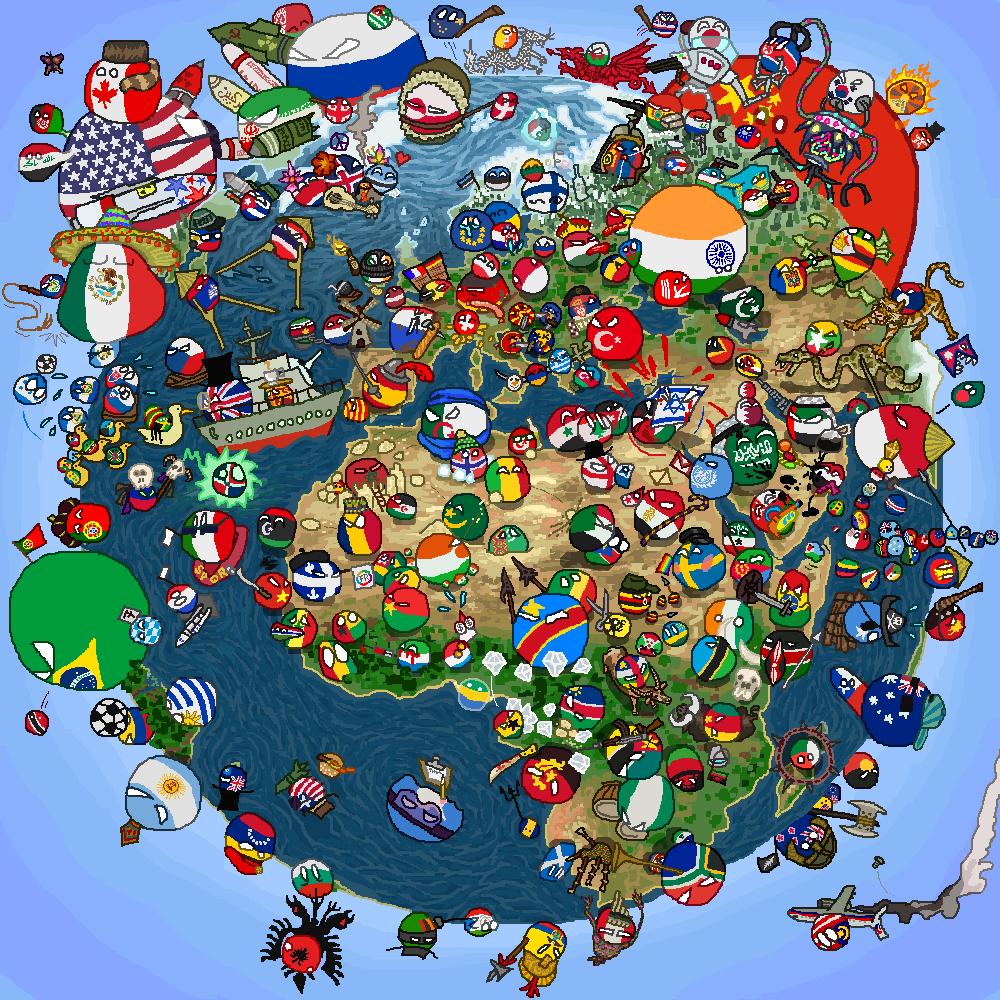 Polandball world скачать торрент
