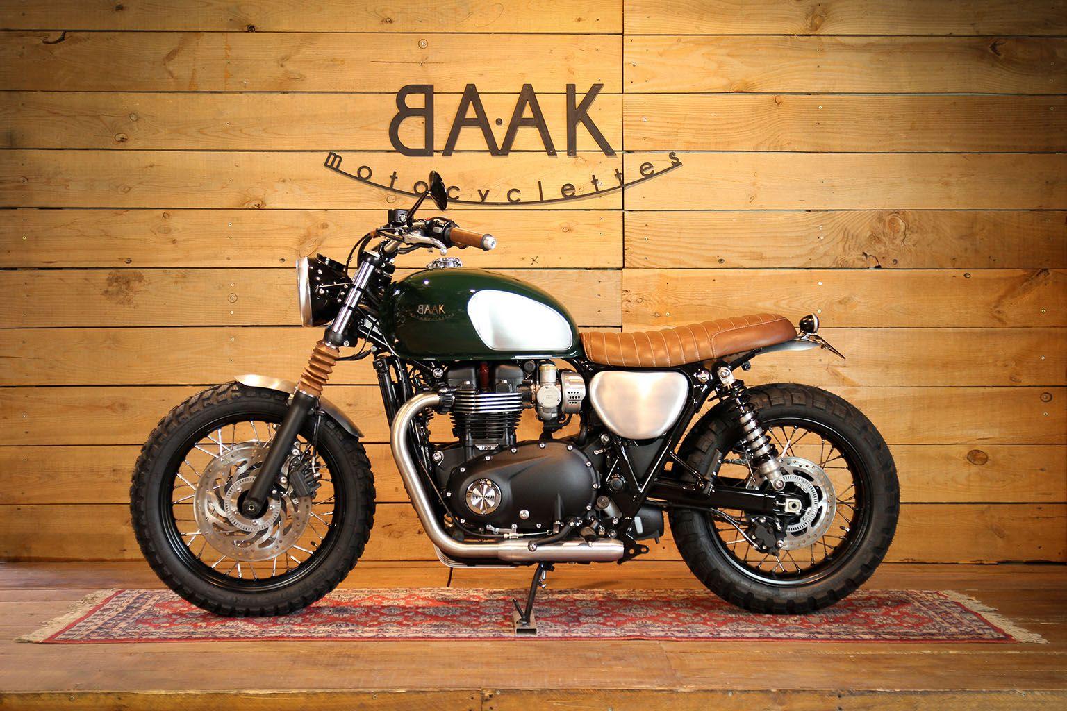 Custom Motorcycles Showroom In Lyon France Bikes Triumph