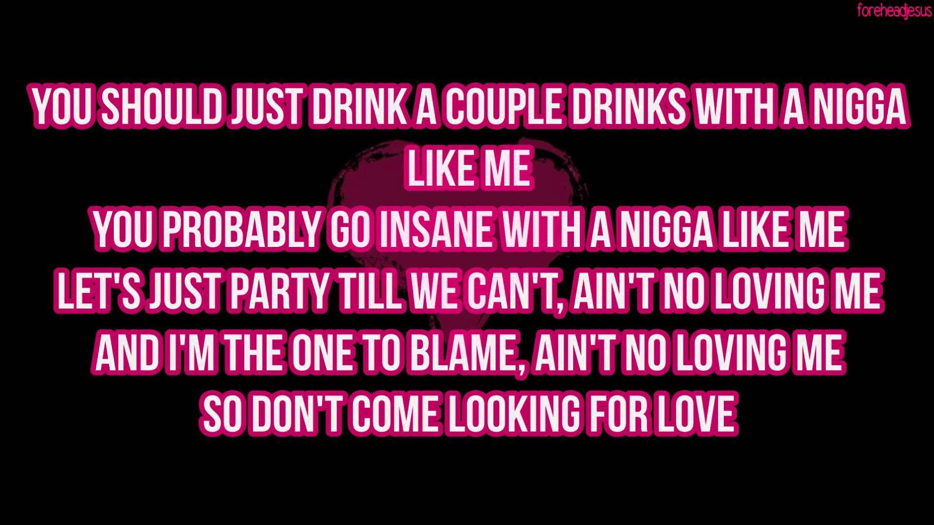 Download August Alsina No Love Lyrics