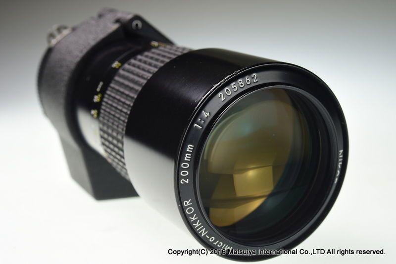 Nikon Ai S Micro Nikkor 200mm F 4 Excellent Nikon Nikon Lens Micro