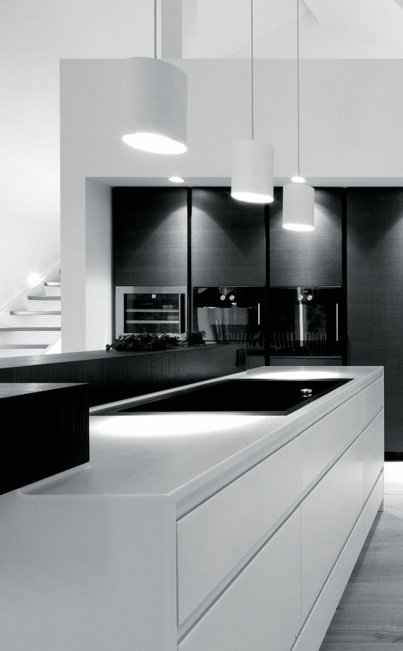 Modern - schwarz weiß - chic. | Wohnen | Pinterest | Schwarz weiß ...