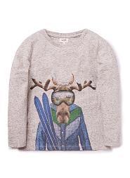 Moose Ski Tee