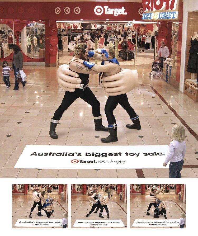 Target Australia: Big Toy Sale, Wrestling