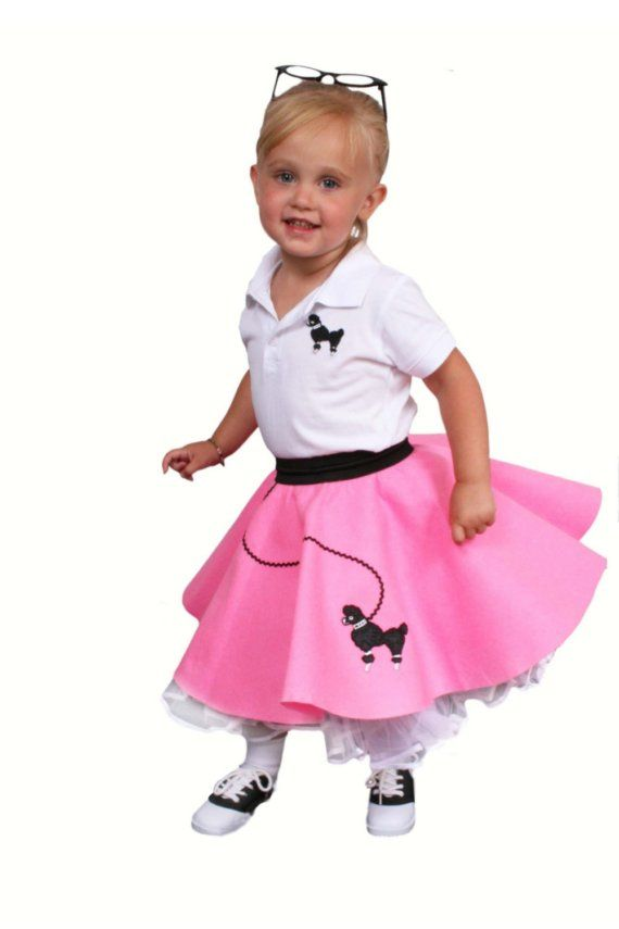 Halloween Ideas For Austin 50s Poodle Skirt