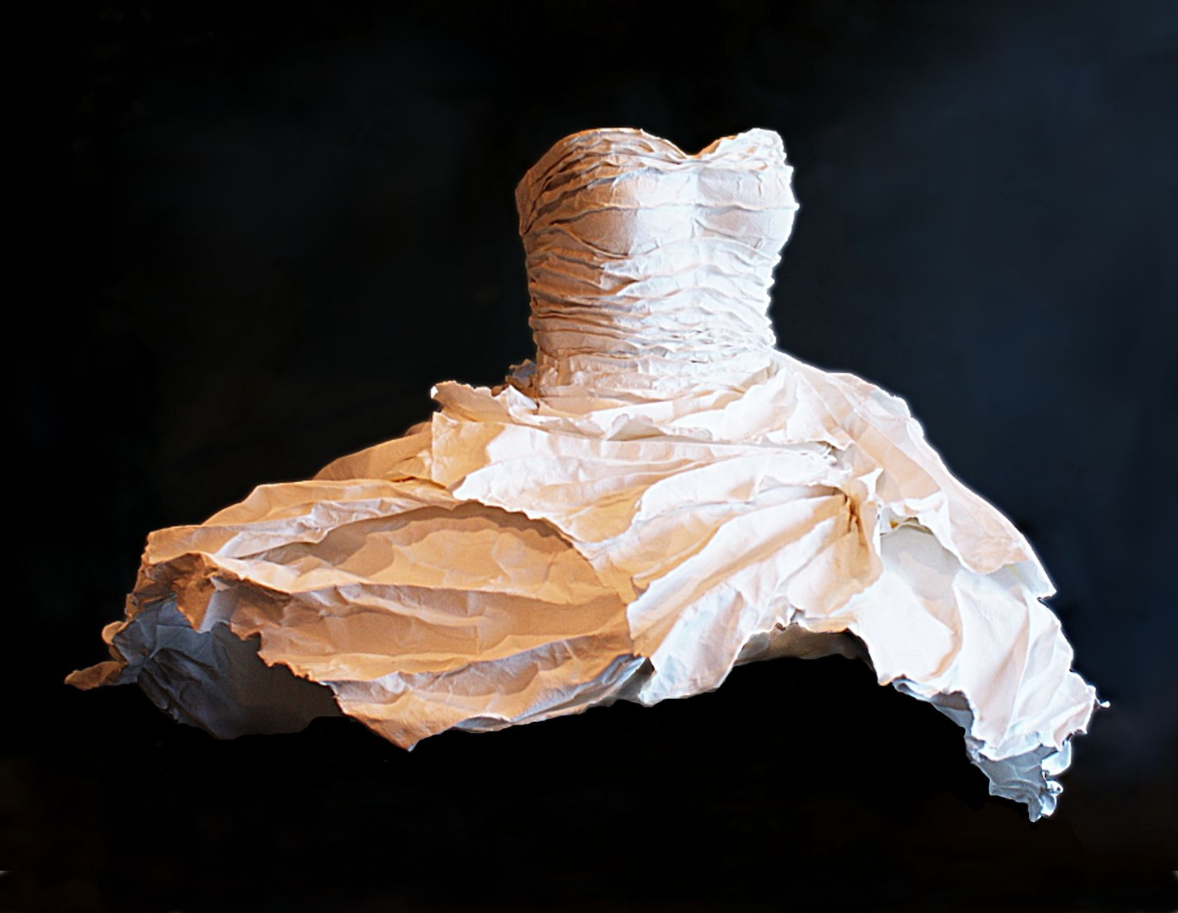 """""""Oceanic """" by Jan Marinos - Handmade Paper, Recycled cotton rag"""