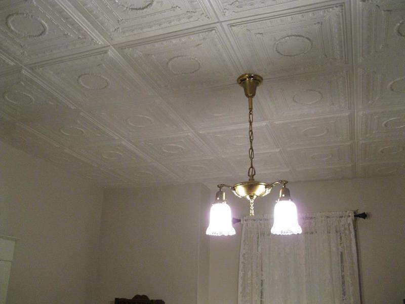 Romanesque Wreath Styrofoam Ceiling Tile 20 X 20 R 47