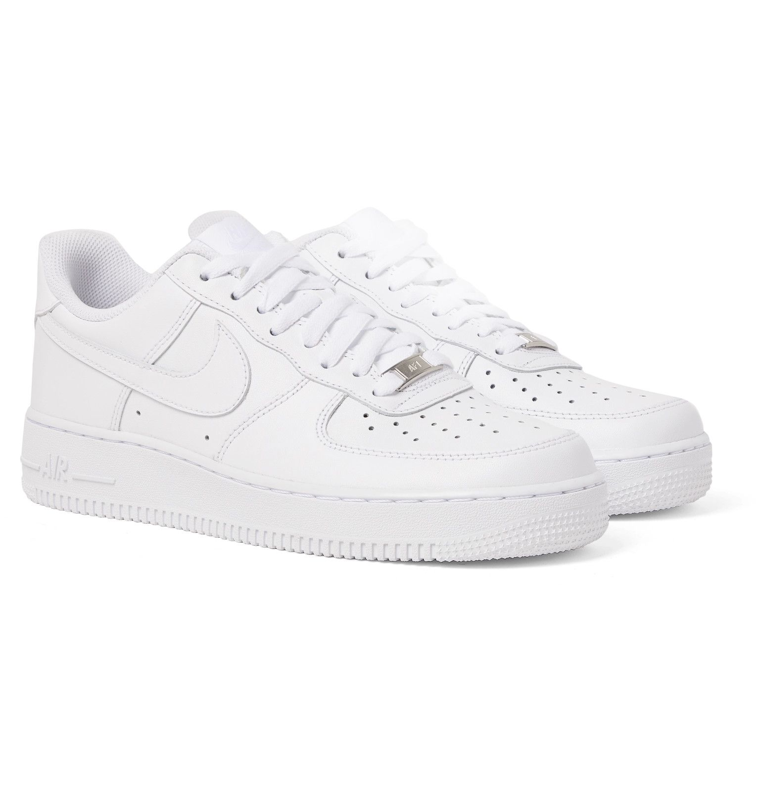 Nike Air Force 1 '07 Leather Sneakers Men White