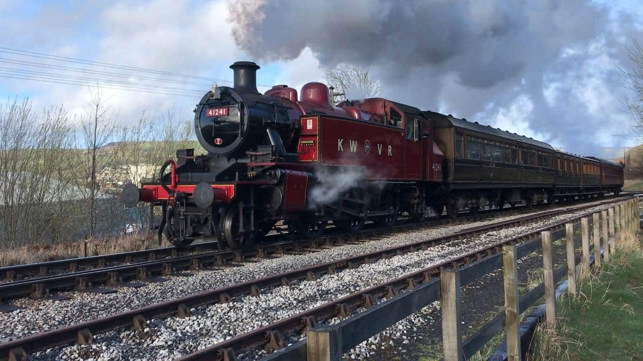 Book sale from Vintage Carriages Trust at the Keighley
