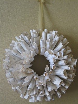 Cherished Treasures: Bandwagon Paperback Wreath?