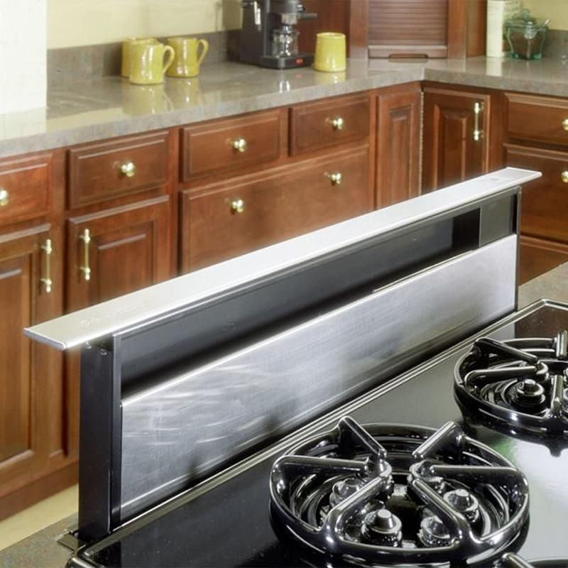 Kenmore 36 Telescopic Downdraft Range Hood 599 Null Kitchen