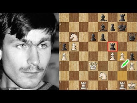 The Only Man Kasparov Ever Feared This Is Ivanchuk S Immortal Youtube In 2020 Chess King And Queen Chess Tactics Game Of The Day